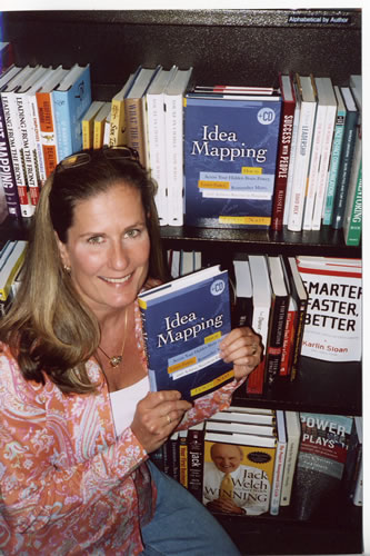 First Sighting of the Idea Mapping Book at Barnes & Noble